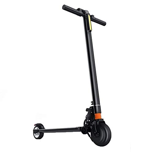 FUJGYLGL Coche Plegable Scooter eléctrico, Vespa for los niños Extra Ancho del...