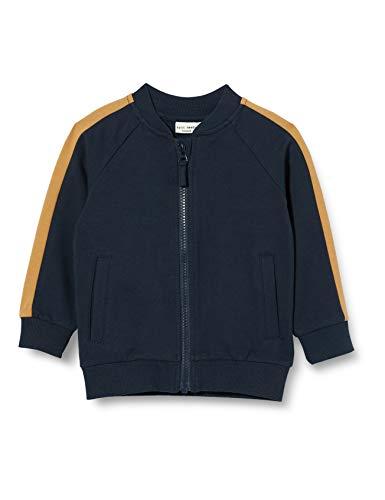 NAME IT Baby-Jungen NMMVOLTANO LS SWE CARD UNB B Sweatshirt, Blau (Dark Sapphire), 104