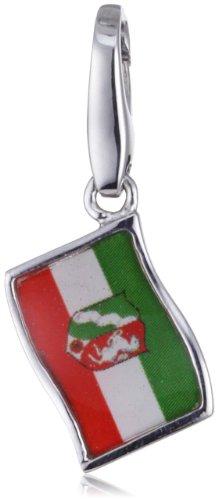 Giorgio Martello Milano Damen-Anhänger Silber Flagge 984-813139