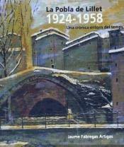 La Pobla de Lillet 1924-1958