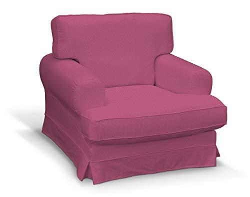 Dekoria Ekeskog Sesselbezug Husse passend für IKEA Modell Ekesgog rosa