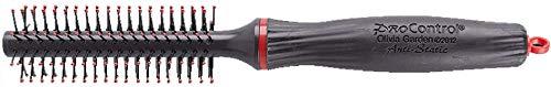 Olivia Garden ProControl Brosse Ronde, Diamètre 25mm - Antistatique, Poils Arrondis en Nylon, Ergonomique et Ultra-Léger