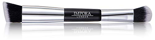 Double Ended Foundation and Contour Brush by Impora London / Doppelendiger Konturpinsel