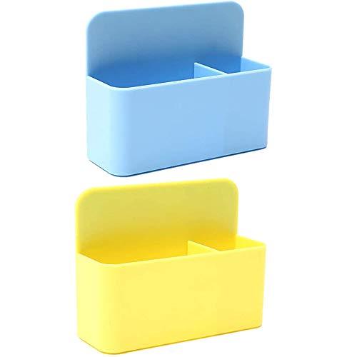 EIKLNN 2 Stück Magnetischer Stiftehalter, Magnetischer Marker Halter, Marker Stift Organizer mit Magneten, für Whiteboard, Kühlschrank, Spind und Andere Magnetische Oberflächen