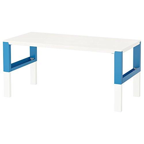 ZigZag Trading Ltd IKEA PAHL Schreibtisch weiß/blau