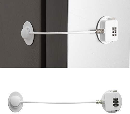 HoneSecur Combination Refrigerator Lock Keyless Freezer Lock Childproof Fridge Locks Child Safety product image