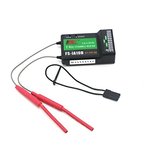 Flysky FS_iA10B Receiver 2.4G10CH PPM Output Compatible for FS I6 I10 I6S I6X Transmitter (iA10B)