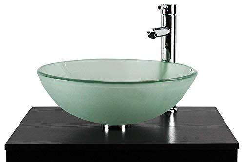 Home Supplies - Lavabo (cristal), color verde azulado