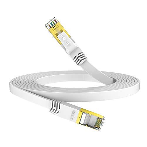 HiiPeak Plano Cable Ethernet Cat 8 RJ45, Cable LAN De Red 40...