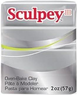 Bulk Buy: Polyform Sculpey III Polymer Clay 2 Ounces Silver S302-1130 (5