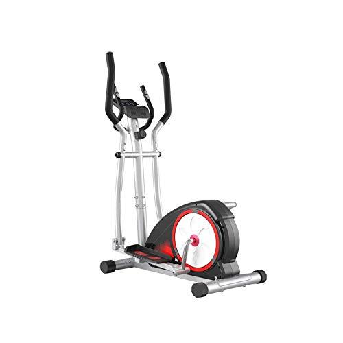 UIZSDIUZ Máquina elíptica Casa Equipo de Fitness Pequeño magnetrón silencioso Spingping Stepping Walker
