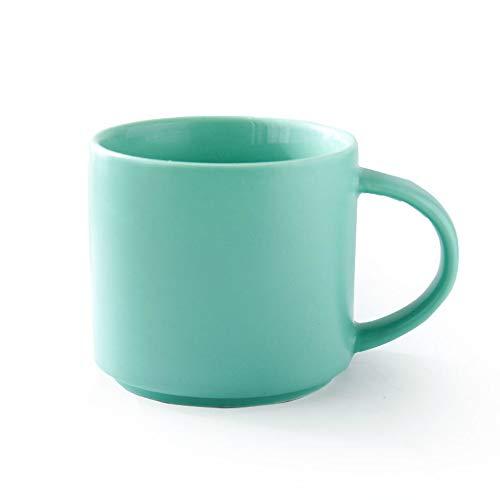 donfhfey827 Ins einfache Tasse nordischen Stil Becher Keramik große Kapazität Tasse kreative Kaffeetasse Cappuccino Latte Kaffeetasse Haushalt europäischen
