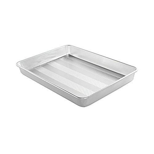 Nordic Ware Prism 13' X 17.75' High-Sided Sheet Cake Pan, Metallic