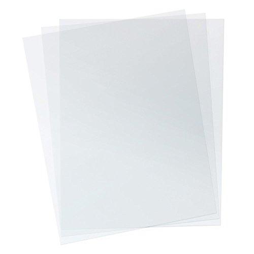 TruBind 7 Mil 8-1/2 x 11 Inches PVC Binding Covers - Pack of 100, Clear (CVR-07ASN)