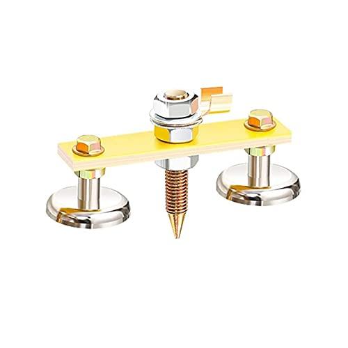 Conexión fija Abrazaderas de soldadura ajustables 25kg-50kg Solder magnético fuerte soporte de soldador fuerte Herramienta de mano Máquina de soldadura eléctrica Accesorios Posicionador de soldadura