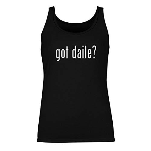 got daile? - Women's Summer Tank Top, Black, Large