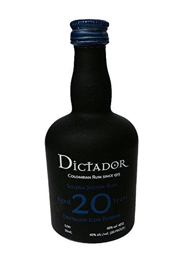 Dictador Solera System Rum 20 Jahre Kolumbien 0,05 Liter