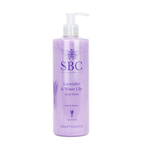 SBC Lavender Water Lily BODY WASH - Lavendel & Wasserlilie Bad und Duschcreme