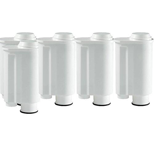 5cartucce filtranti adatte a Saeco Phillips Intenza, Lavazza Gaggia, Espresso A Modo Mio, per macchinette del caffè, come l'originale SAECO CA6702/00