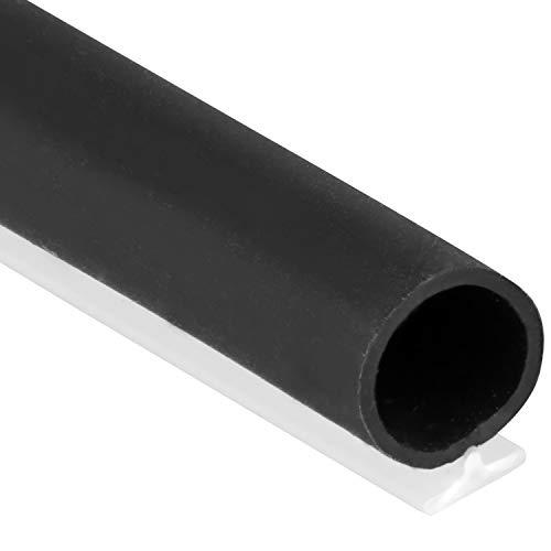 T-Slot Mount Window Weatherstrip Seal 5/16' Bulb Bubble for 3/16' Slot Receptacle 3 Colors & 5 Length Options (25', Black)