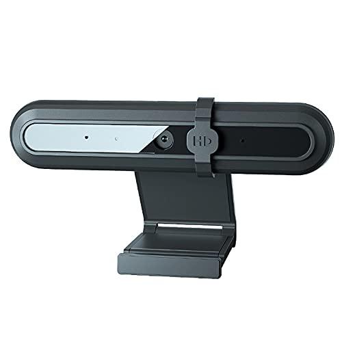CHENPENG Cámara Web HD 1080P con Micrófono para Escritorio, Cámara Web USB para Computadora, Enfoque Automático, para Videoconferencia, Enseñanza, Transmisión Y...