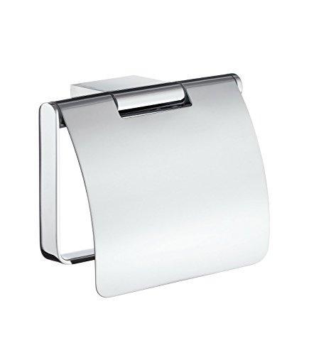Smedbo Air Toilettenpapierhalter mit Deckel AK3414 Chrom Glänzend