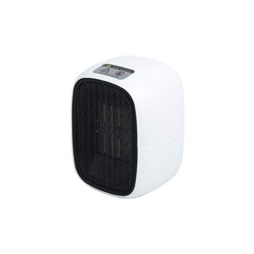 GCHH Calefactor Eléctrico Cerámico 500W PTC De Aire Portátil Calefactor - con Termostato Silencioso, Calefacción 2S Calor Y Natural para Hogar Y Oficina Bajo Consumo