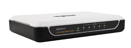 Legrand - On-Q DA1015V1 5Port Gigabit Desktop Switch