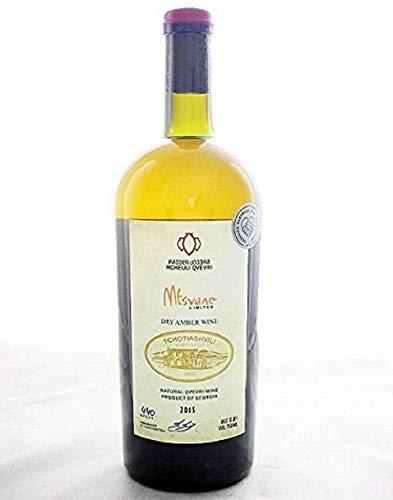 チョティアシュヴィリ ムツヴァネ《Tchotiashvili Mtsvane》【ジョージア(グルジア)/カヘチ地方(東部) ・オレンジワイン(辛口)】