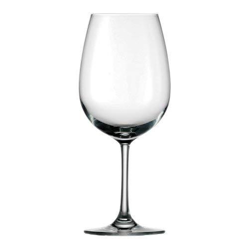 Stölzle Lausitz Bordeaux Rotweingläser Weinland 540ml, 6er Set Weinglas, hochwertige Qualität, spülmaschinenfestes Bordeauxgläser, große Rotweinkelche