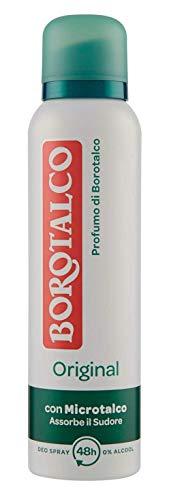 Borotalco, Deodorante Spray Original con Microtalco, Assorbe il Sudore,...