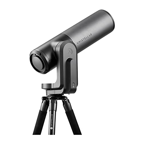Unistellar eVscope eQuinox - Smart Digital Refractor Telescope - Computerized, Go to Portable Astronomy for Beginners & Advanced Users, Adults or Kids - Comes with Tripod, Alt-Az Mount and Control App