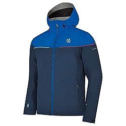 Dare 2b Herren-Ski- und Snowboardjacke, wasserdicht und atmungsaktiv, isoliert, faltbar, mit Kapuze, wasserdicht L Admiral Blue/Oxford Blue