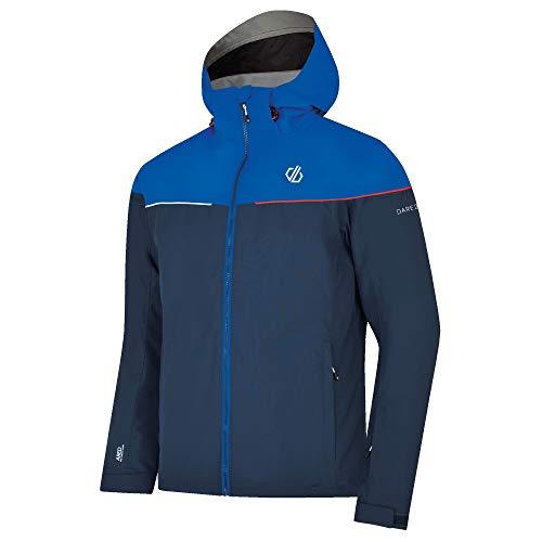 Dare 2b Herren Cohere Wasserdicht & Atmungsaktiv High Loft Isoliert Faltbare Kapuze Ski & Snowboard Jacke Wasserdicht M Admiral Blue/Oxford Blue