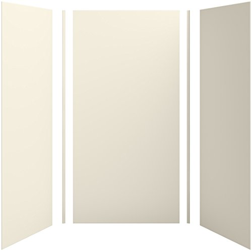 Find Discount KOHLER K-97614-W09 Choreograph 48 x 36 x 96 Shower Wall Kit, VeinCut Sandbar