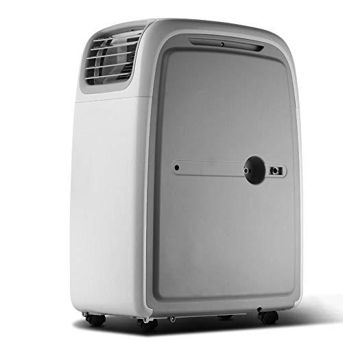 DIANAR Aire Acondicionado móvil, Enfriador de Aire portátil 3600W / 12000BTU, Ventilador y deshumidificador, Kit de Sellado de Ventana Cerrado y Manguera de Escape