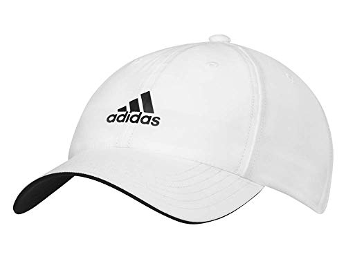 adidas Golf Sports Flexible Peak Cap Hat Touch And Close Nuevo (Hombre, Blanco 2019)