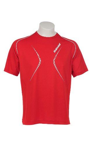 BABOLAT Club Line Camiseta Caballero, Rojo, S