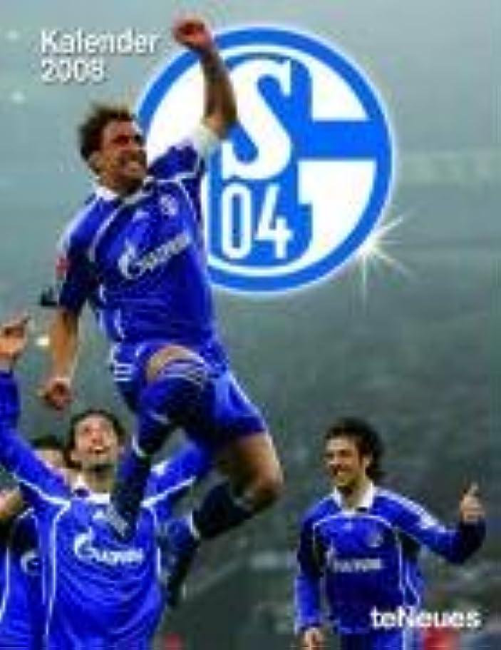 延ばすモール散らすFC Schalke 04 2009. Taschenkalender.