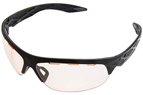PUMA Unisex-Erwachsene PU0001S-001 Sonnenbrille, Schwarz, 60/14/128