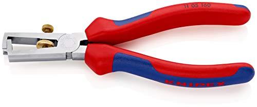 KNIPEX Alicate pelacables Con muelle de apertura universal (160 mm) 11 05 160