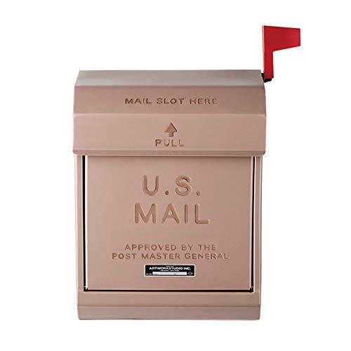 ART WORK STUDIO メールボックス2 U.S. Mail box 2 ベージュ TK-2078