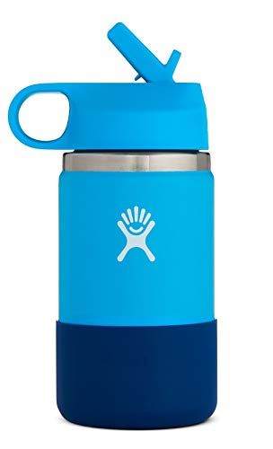 HYDRO FLASK Pacific Cobalt Kid's Wide Mouth 2.0 Bottle, 1 EA