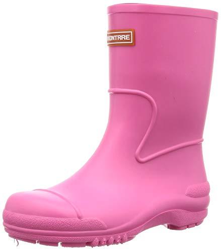 [アキレス] レインブーツ 長靴 軽量 日本製 14cm~21cm 2E キッズ 男の子 女の子 SCB 1070 ピンク 17.0 cm
