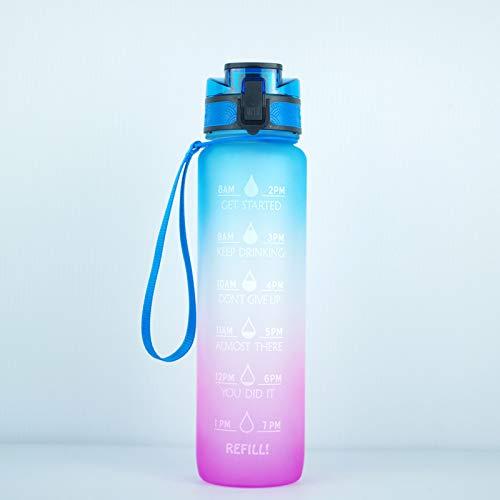 YUY Space Cup Taza Helada Olla De Gran Capacidad Botella para Deportes Al Aire Libre Taza Que Acompaña,E
