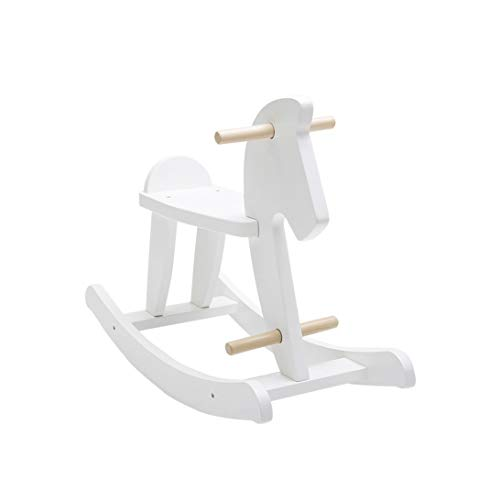 YWSZJ Kindermassivholz Kinderschaukelpferd-Baby-Schaukelstuhl-Fahrt auf Spielzeug for Jungen und Mädchen