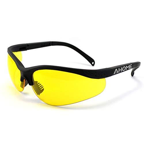 AHOME Protección UV Gafas de Seguridad Ajustable