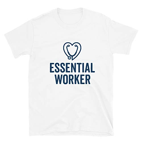 Best Graphic Designers Essential Worker, Social Distancing, Self Isolation, Quarantined T-Shirt White