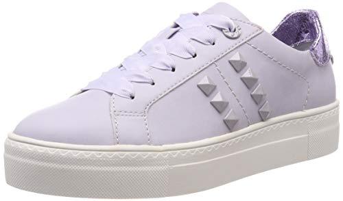 Tamaris Women's Low-Top Sneakers, Purple Lavender 551, 7