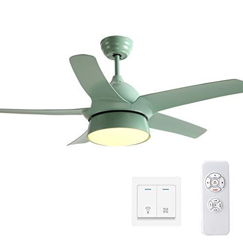 Fanjiani Plafondventilator voor plafondventilator, eenvoudige ventilator, moderne woonkamer, slaapkamer, geruisloos, met elektrische ventilator